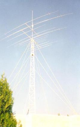 antennas: at JY8YB/JY8B