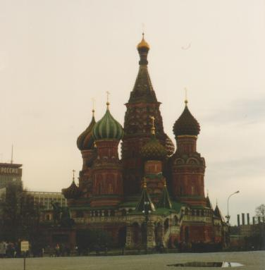 Sightseeing in Moscow: