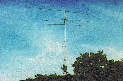 The 3El. Tribander on a 10m tower