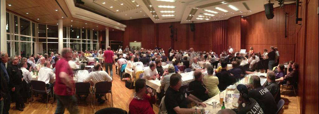 270 guests at the BCC-Buffet